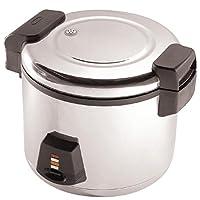 Buffalo Electric Rice Cooker 6Ltr 345X460X400mm Pressure Warmer Steamer