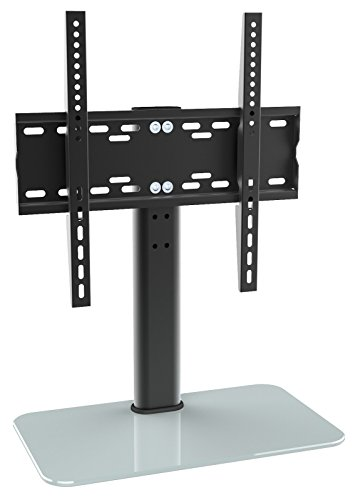 ricoo-estante-tv-led-pie-de-vidrio-soporte-fs304-adjustable-en-altura-estante-television-led-pantall