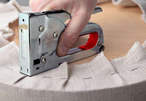 Sellerie tissu agrafeuse agrafeuse agrafeuse puissante DIY avec...