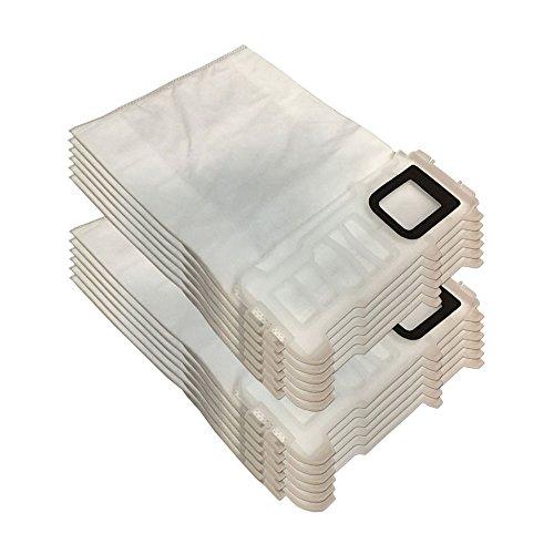 Set 12 Staubsaugerbeutel (aus Mikrovlies) für Vorwerk Kobold VK 135, 136, VK135, VK136