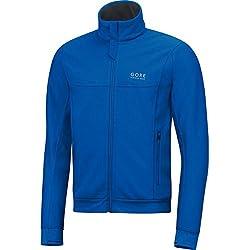 Gore Running Wear Chaqueta Pararunning De Hombre Gore Windstopper Talla M Color Azul Eléctrico