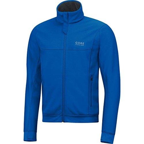 GORE WEAR Herren Essential Windstopper Jacke, Brilliant Blau, M Essential Windstopper