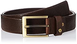 Allen Solly Mens Leather Belt (8907467232963_ASBLT516021_Large_Brown)