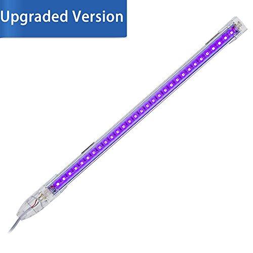 SUNVIE tragbare Schwarzlicht Lampe UV LED Schwarzlicht-Leuchte, für UV-Poster, UV-Art, UV-Härtung, Authentifizierung Währung oder Fleck Detektor