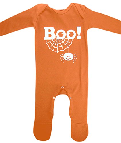 Fancy Ole - Baby BOO! Purple Romper Karneval Halloween Komplett Kostüm , Orange, Größe 80-, 1- Jahre