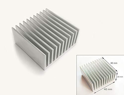 Vip Gadgets Aluminum Heatsink 40X40X20mm Radiator