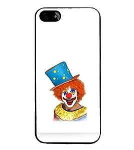 printtech Joker Clown Back Case Cover for Apple iPhone 5