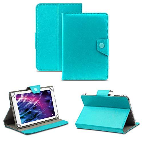 NAUC Tablet Hülle für Medion Lifetab P8514 P8314 P8312 P8311 Tasche Schutzhülle Case Cover, Farben:Türkis