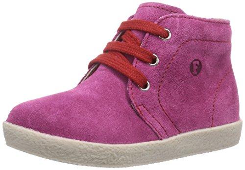 Naturino FALCOTTO 1195, Sneaker per neonati bambina, Multicolore (Mehrfarbig (FUXIA CUC + LACCI ROSSO)), 21