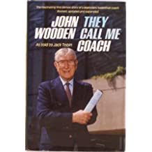 John Wooden: They Call Me Coach (Revised Edition) by John Wooden (1985-08-02)