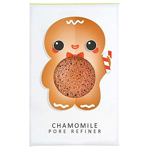 Gingerbread Man Mini Konjac Pore Refiner