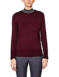 Amazon.fr   Rouge - Pulls, Gilets   Sweat-shirts   Femme   Vêtements c4496dc6a1ff