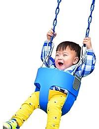 cooshional Columpio Infantil de Jardín Con cadena recubierta para Bebé Niños 49ae913bd15