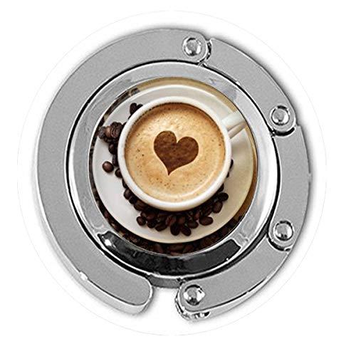 asd Trendiger Cappuccino-Anhänger Herz Kaffee-Halskette Hot Chocolate Art Schmuck für Mädchen Glas Cabochon Anhänger Hänger Schmuck (Valentinstag Schokolade Für Lehrer)
