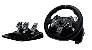 logitech g920 racing lenkrad driving force f r. Black Bedroom Furniture Sets. Home Design Ideas
