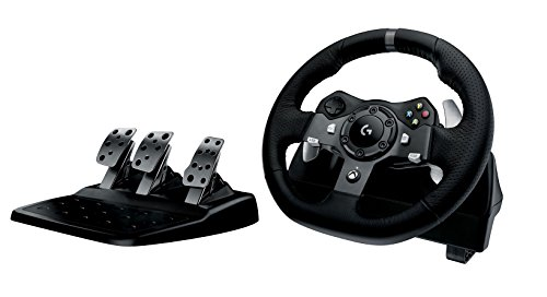 Foto Logitech G920 Driving Force per Xbox One/PC, Nero