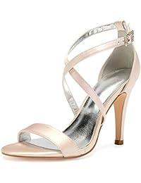 32da5260725 Amazon.es  zapatos color champagne  Zapatos y complementos