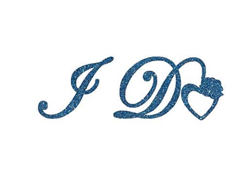 .de Schuhsticker I Do für den Brautschuh Blau ()