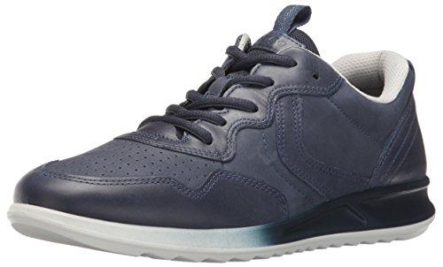 Marine-blau-leder-heels (Ecco Damen Genna Sneakers, Blau (50595marine/Marine), 38 EU)