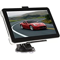 Maxfind 7-Inch car GPS navigation screen 8G 256M HD touch with a useful life, maps and traffic (Black)