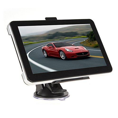 Maxfind - Navigatore con schermo tattile da 7'', per auto, 8 Gb di memoria interna, 256 Mb di Ram, lunga durata, con mappe e informazioni del traffico