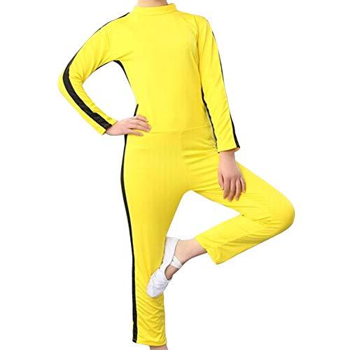 Tenthree Kampfsport Bekleidung Unisex Kinder Erwachsene Overall Kung Fu - Outfit Kampf Film Kleidung Atmungsaktiv Strampler Training Sportbekleidung ()