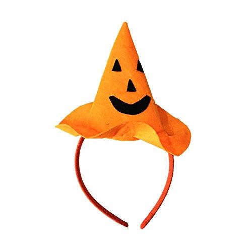 Kürbis Stirnband Halloween Kostüm Stirnband Haar Band Kopfschmuck für Kinder ,Erwachsene (Kürbis Ein Kostüm)