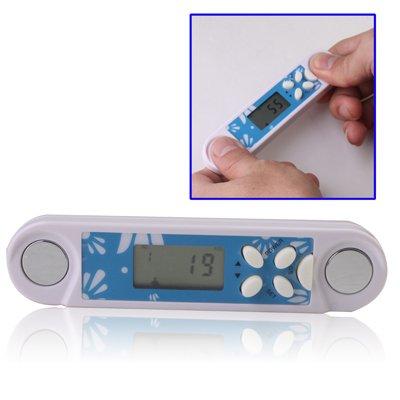 Body Fett Fat Meter Körperfett Messgerät mit LCD Display