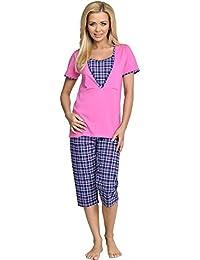 Be Mammy Mujer Lactancia Pijamas Dos Piezas Urlike