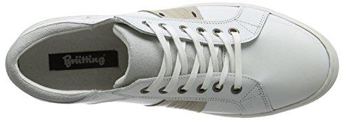 Bruetting - Lissabon, Scarpe da ginnastica Uomo Bianco (Bianco (Weiss))