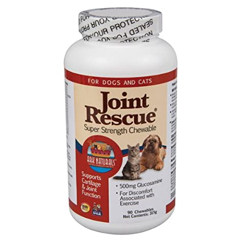 Ark Naturals Joint Function Rescue Super Strength Chewables for Dogs Cats 90ct