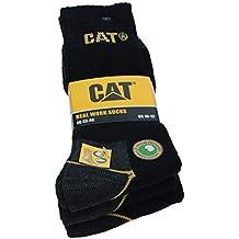 3 6 9 12 24 PARES CAT CATERPILLAR HOMBRE CALCETINES DE TRABAJO