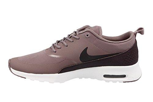 Nike Damen Air Max Thea Violett Mesh / Kunstleder / Leder Sneaker Violett (grigio Taupe / Port Wine / Bianco)