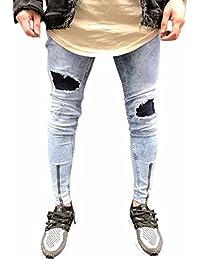 Amazon.es  Pantalones Ajustados Para Hombres - Harem  Ropa ecb96053200e