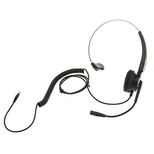H HILABEE VH510 Call Center Telefon IP Telefon Mono Headset Mit Mic RJ9 Anschluss