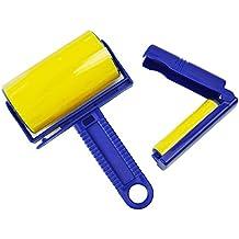 Safekom reutilizables pegajosos Buddy–Ropa para Eliminar pelo pelusa de pelo Limpiador Cepillo de rodillo