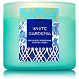 Bath & Body Works White Gardenia Scented Candle 3 Wick 14.5 Ounce