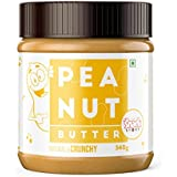The Snack Story Natural Peanut Butter, Crunchy 340g (Unsweetened)