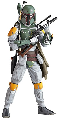 Star wars Revoltech Boba Fett painted action figure by Animewild