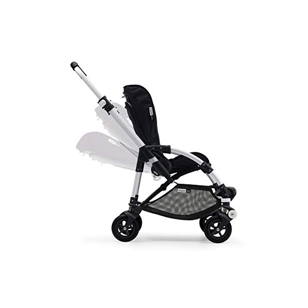 Bugaboo Bee 5, Foldable and Lightweight Pushchair, Converts Into Pram, Black/Ruby Red Bugaboo The perfect choice for city living Compact yet comfortable for parent and baby Light and easy one-piece fold for small spaces 6