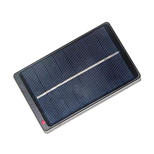Elviray 1 Watt 4 V Solar Panel Board Ladekasten Ladegerät Energie Lade Netzteil Box Für 2 * AA/AAA Akku (Panel-board)
