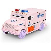 Preisvergleich für Kongqiabona Neuheit Design Cash Truck Form Automatische Anzahlung Sparen Box elektronische Licht Passwort Münzen Spardose Sparschwein Kind Geschenk