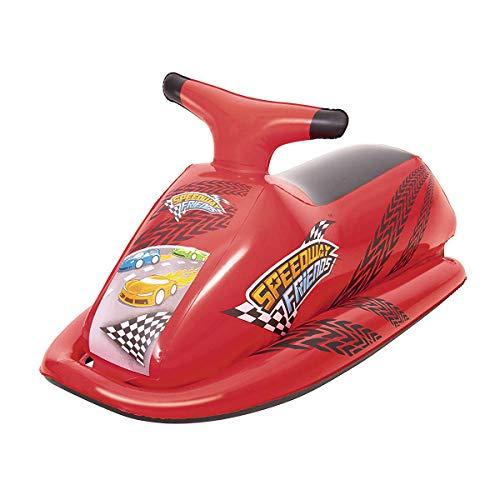 Cisne 2013, S.L. Moto Hinchable de Piscina Jugete diseño Coche Carreras. Tamaño...