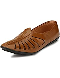 Hot Man men's synthetic loafers