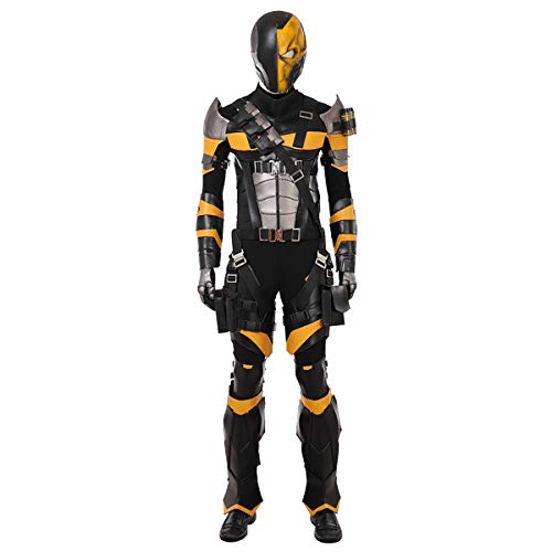 QWEASZER Justice League Terminator Deathstroke Kostüm Deluxe Edition Superheld Cosplay Kleidung Kostüm Film Kleidung Requisiten Benutzerdefinierte - Terminator Kostüm Kinder
