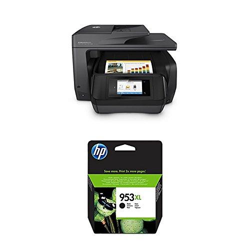 HP OfficeJet Pro 8725 Multifunktionsdrucker schwarz + HP 953XL Schwarz -