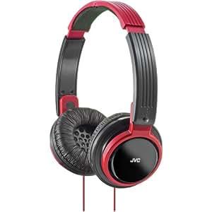 HAS200R Riptidz On-Ear Foldable Headband Headphones-Red