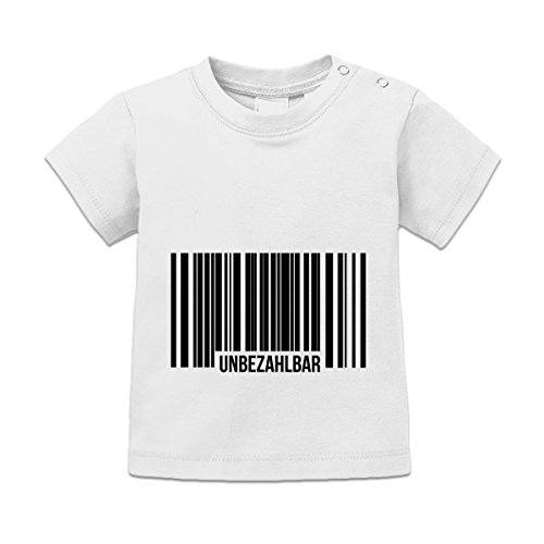 Unbezahlbar Barcode Baby T-Shirt by Shirtcity (Unbezahlbar T-shirt Mädchen)