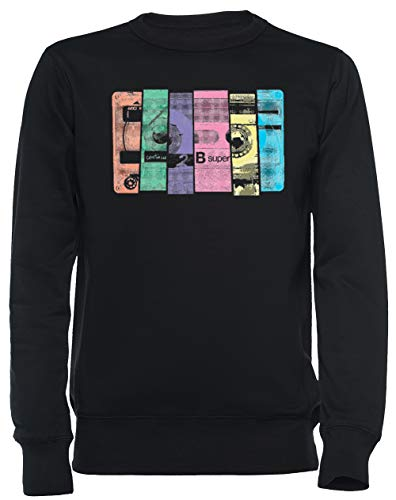 Mischen Band 10 Unisex Sweatshirt Schwarz