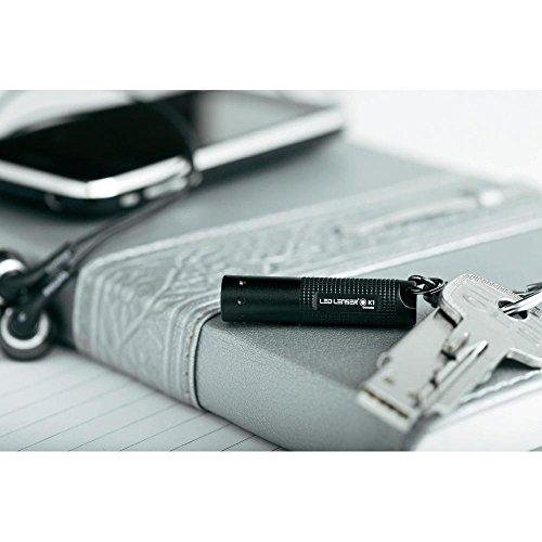 Ledlenser K1 Key-Ring LED Torch (Black) - Blister Pack, 8251